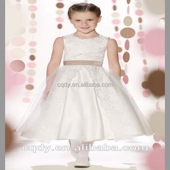 0f9749670e3b fiore ragazza battesimo da sposa vestito corteo partito bambino abiti da  prima comunione abiti da bambino