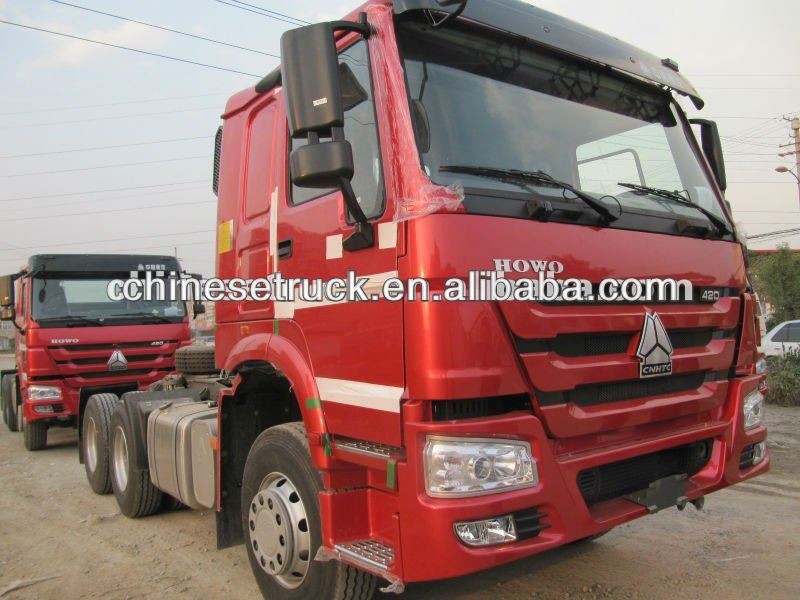 howo tractor truck 6*4 336HP disel engine for sale
