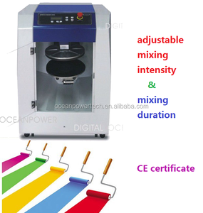 High-speed automatic paint mixer / gyro paint color mixing machine price