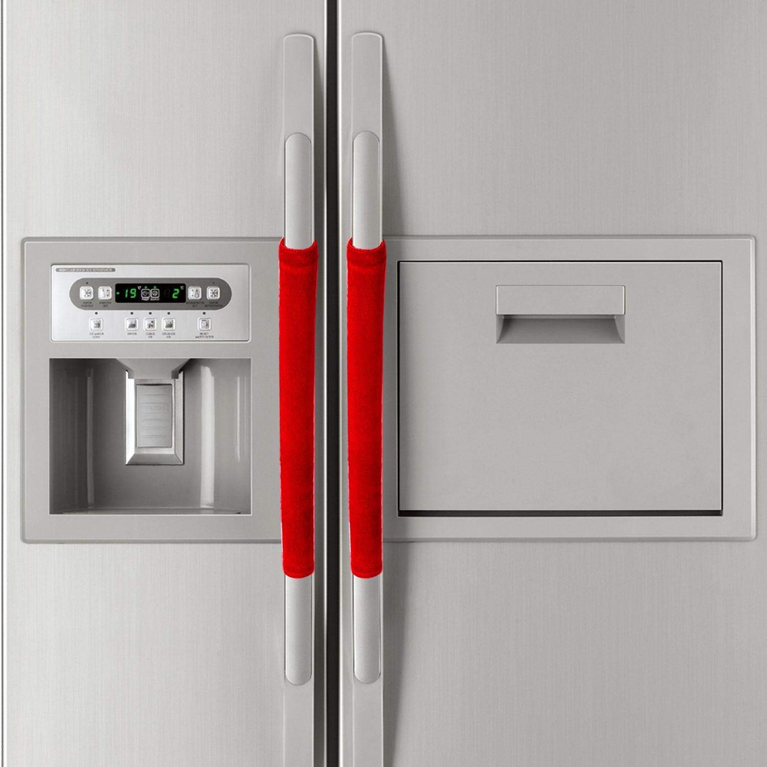 Buy Refrigerator Door Handle Covers,Double-Door Fridge Door ...