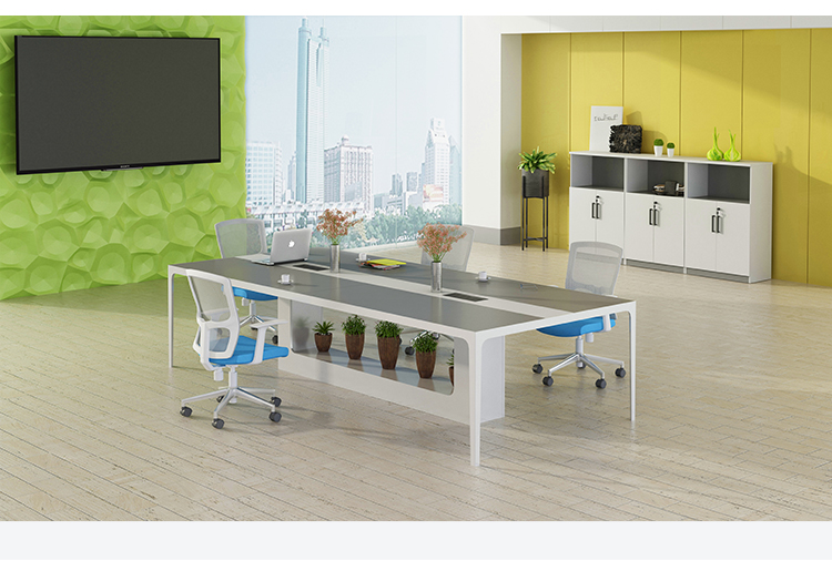 10 Seat Modern Office Furniture Conference Table