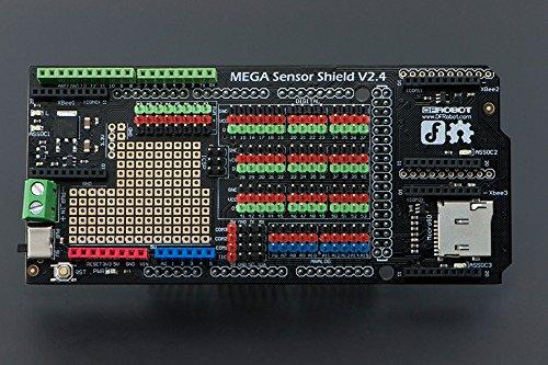 DFRobot Mega Sensor Shield V2.4 /Compatible with Arduino Mega