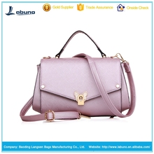 Italy style fashion pink women bags tote bag women PU handbag made in China