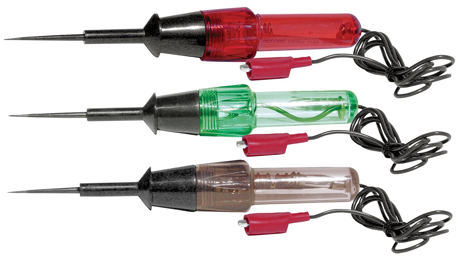 Performance Tool W2983 3pc Circuit Tester Set (High/Low Tester) (Circuit Tester) (Continuity Tester)