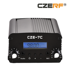 CZE-7C 7 Watts Satellite Receiver All Channels FM Radio Transmitter