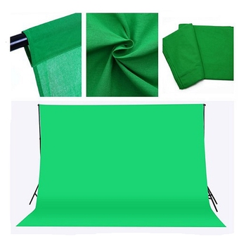 Photographic Equipment 3x3m Pure Cotton Black Screen Muslin Digital Photo Studio Background Backdrop