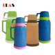 hot sell two cup 1.2l vacuum flask, thermos cup coffee cup