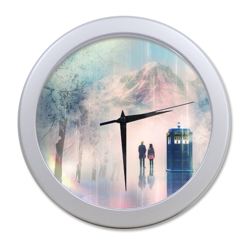 Original <font><b>Home</b></font> <font><b>Decoration</b></font> Customized Doctor Who <font><b>Elegant</b></font> Wall Clock Modern Design Watch Wall Free Shipping #LQ030