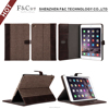 2016 popular multiple colors combination korean leather case for ipad mini 4 with stand