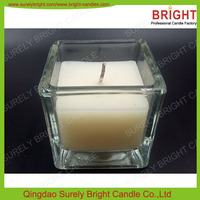 Best Soy Wax Candle In Square Glass Jar