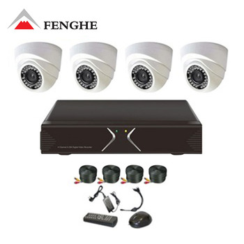 4 CH Channel CCTV DVR Home Surveillance Security Camera System Indoor & Outdoor Camera CCTV System