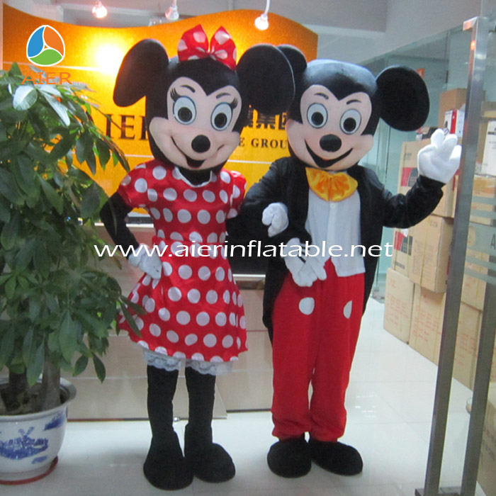 Lovely mickey mouse mascot costumes for adults