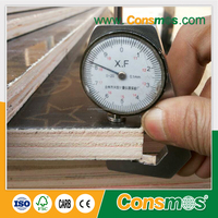 18mm brown film faced shuttering plywood price/waterproof shuttering plywood/construction material
