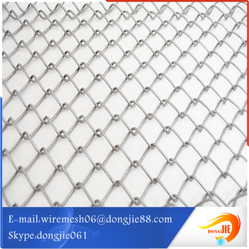 Fence Panels Stainless Steel Wire Mesh Chain Link Mesh - Buy Chain ...