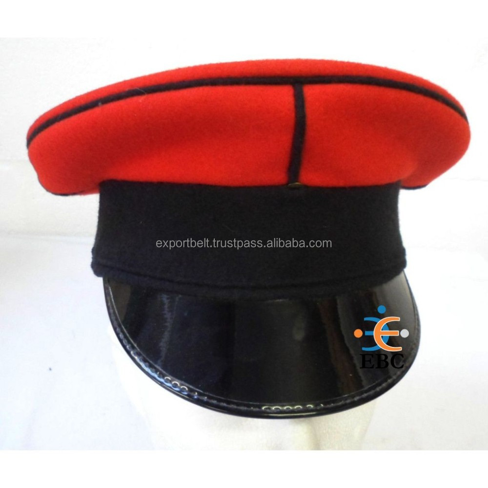 Marching Band Cap, army uniform military hat, Military officers' band cap