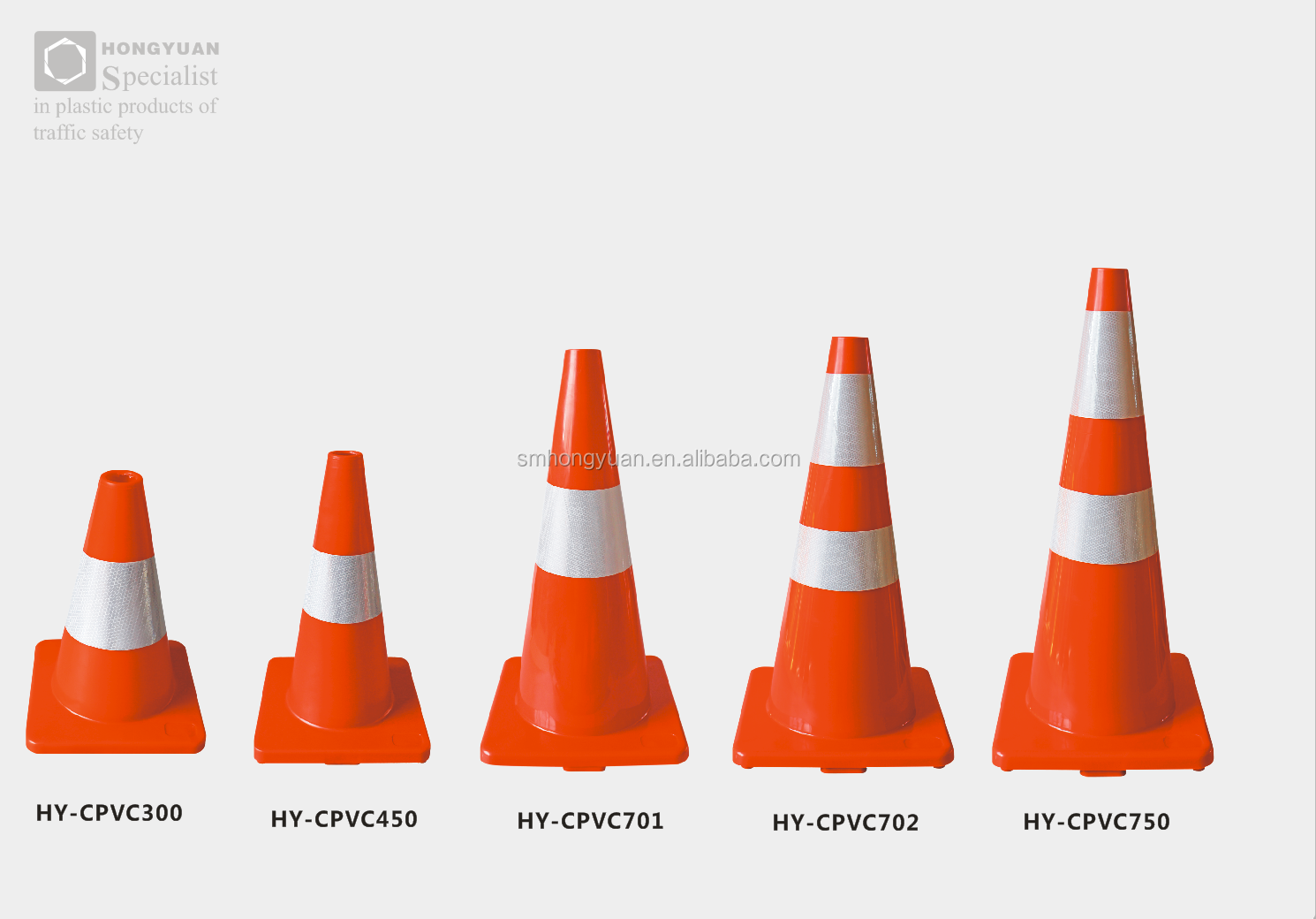 "Hot Sale used traffic cones 28"" Inch 700mm pvc traffic road safety cone"