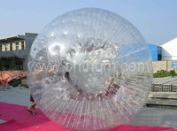 transparent inflatable zorb ball/ inflatable water zorb ball