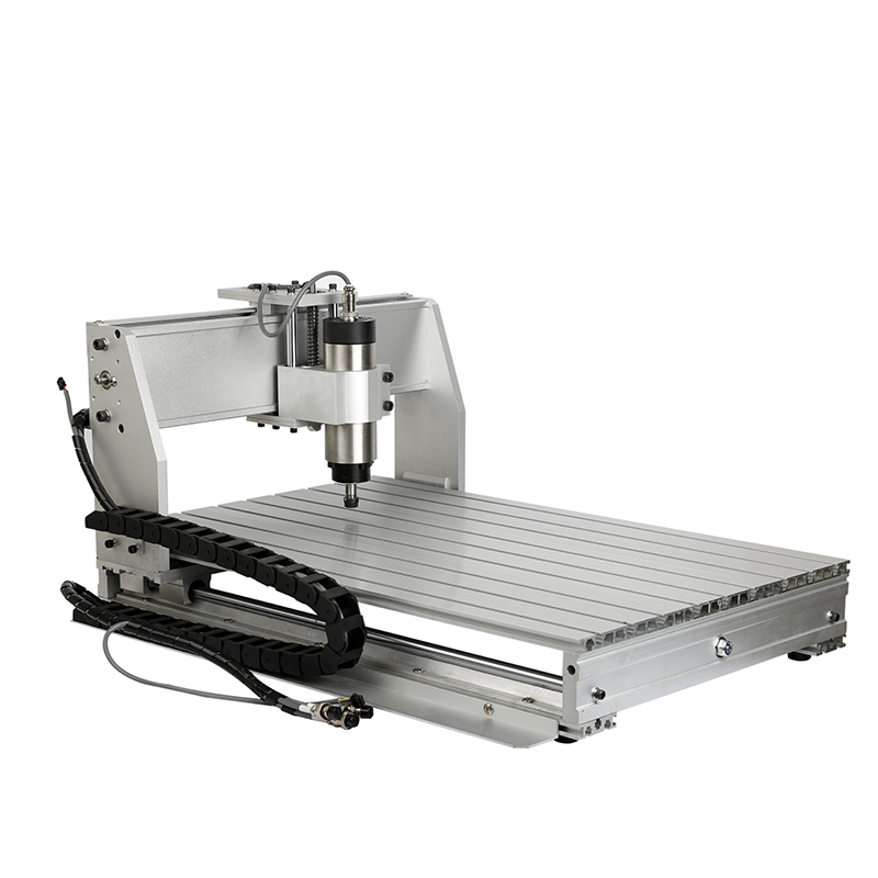 4 Axis 220 V 800 W Lucht/water Cooling 6040Z CNC Machine 0.8KW luchtgekoelde Pcb 6040 Frezen machine Diy Hout Router