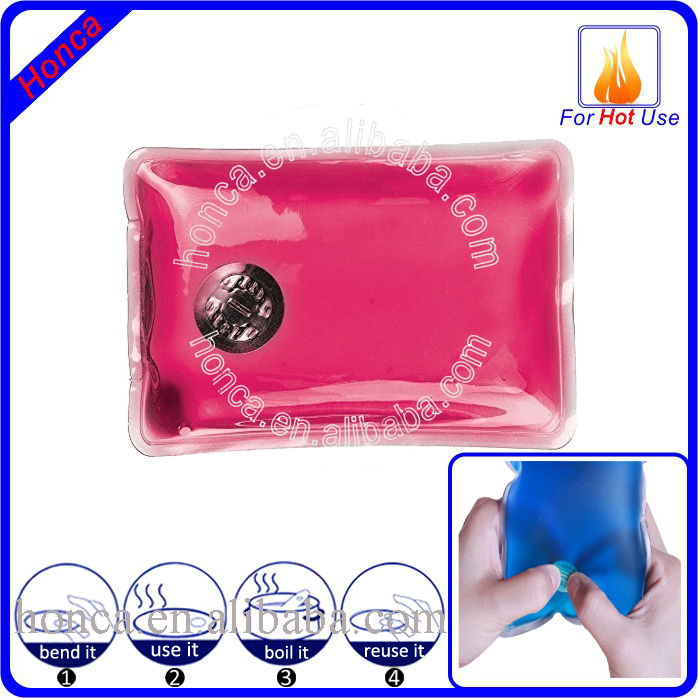Instant Reusable Heat Pack : Body comfort instant gel click heat pack reusable pad