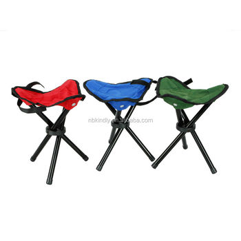 Exceptional Outdoor Camping Fishing BBQ Folding Travel Chair With 3 Legs Stool Picnic  Seat