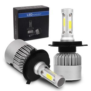 Factory oem headlight led car S2 COB 36w led h4 motorcycle headlight 12v