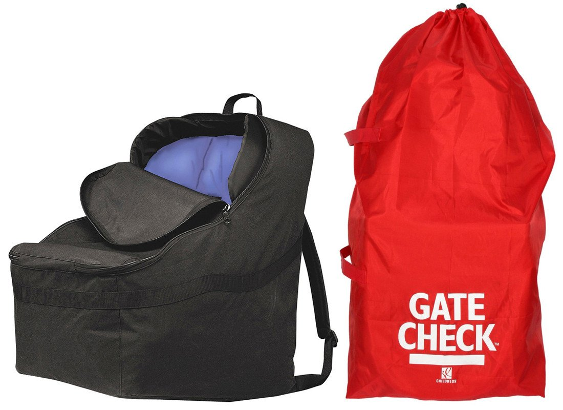 Car Seat Travel Bag -Make Travel Easier /& Save Money New Improved Carseat Carrier for Airport Protect Your Childs CarSeats /& Stroller from Dirt and Damage Easy Carry Padded Backpack