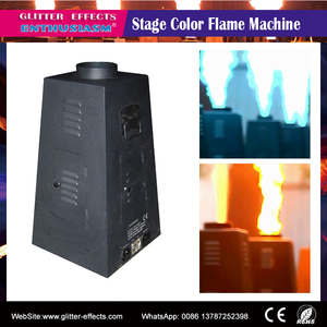 dmx RGBY stage color flame projector for dj disco effect