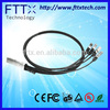 ZTE Finsiar Dell Cimpatible Fiber Optical 3m 30AWG 40G QSFP+ to 4x10G SFP+ Cable