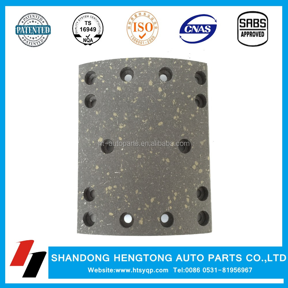 trucks and trailers brake lining for Kamaz auto parts manufacturer