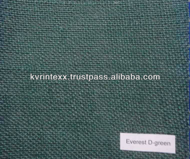 Jute 100% jute blended roll fabric