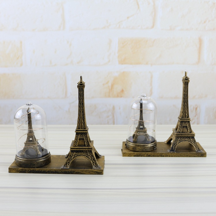 Home Boutique Student Gift Craft Decoration New Illuminated LED Eiffel Tower Decoration