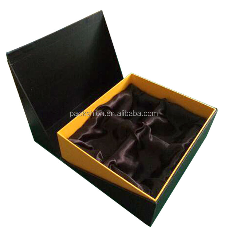 export beautiful cardboard paper gift box packaging for cup design