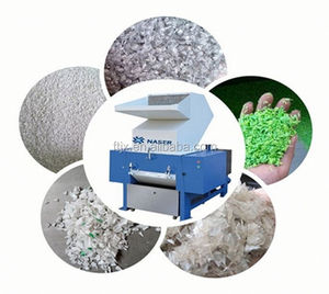 High effective automation PET bottle powerful plastic scrap crusher