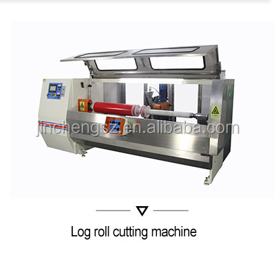 Automatic masking tape jumbo roll rewinder machine