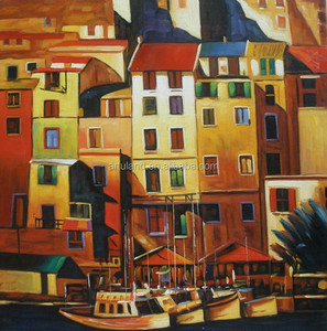Italy cityscape scenery fine art picture oil painting of venice home decorative