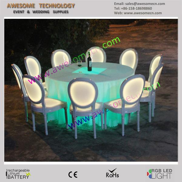 Sillas iluminadas led muebles de la barra para bodas/fiesta/eventos ...