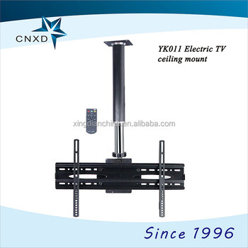 Full motion swing arm plasma lcd tv mount electric tv for Motorized swing arm tv mount