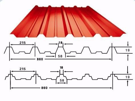 Corrugated Metal Galvanized Zinc Roofing Sheets Sizes
