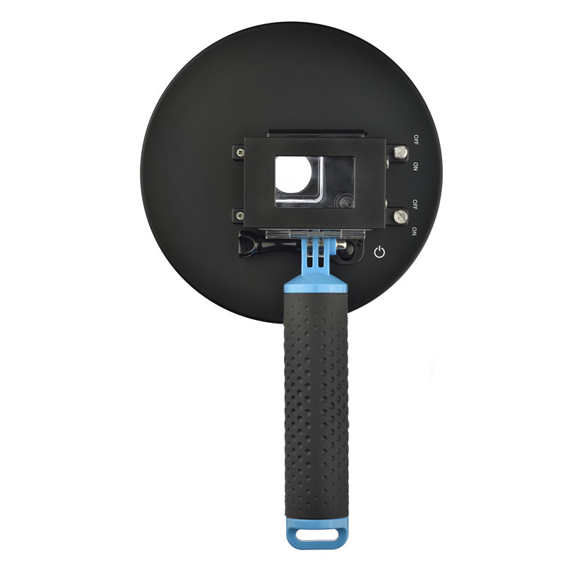 Popular SHOOT 6 Inch 1.5 Version Go Pro Dome Port with LCD Screen