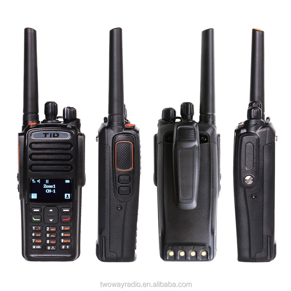 TID TD-9800 IP67 waterproof handheld VHF UHF digital high frequency walkie talkie