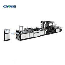 Precision Fully Automatic online loop handle box bag making machine