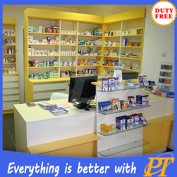 Retail Store Design Job Description: Pharmacy Shop Design Pharmacy Display Counter Showcase