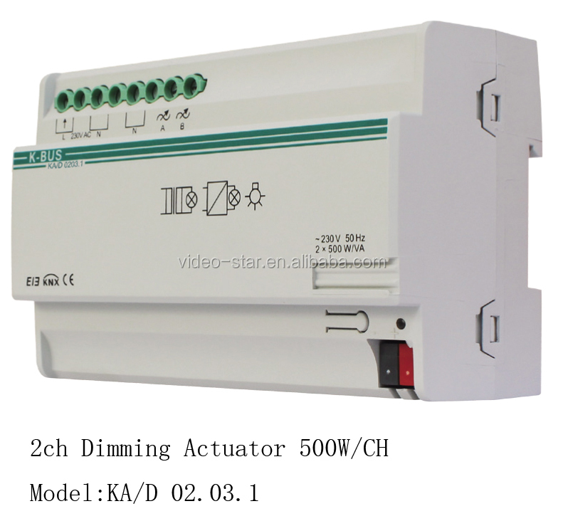 Dimmer Actuator 1-fold(knx/eib Intelligent Home And Building Controlling  System) - Buy Lighting Control Actuator,Led Control Actuator,Remote Control