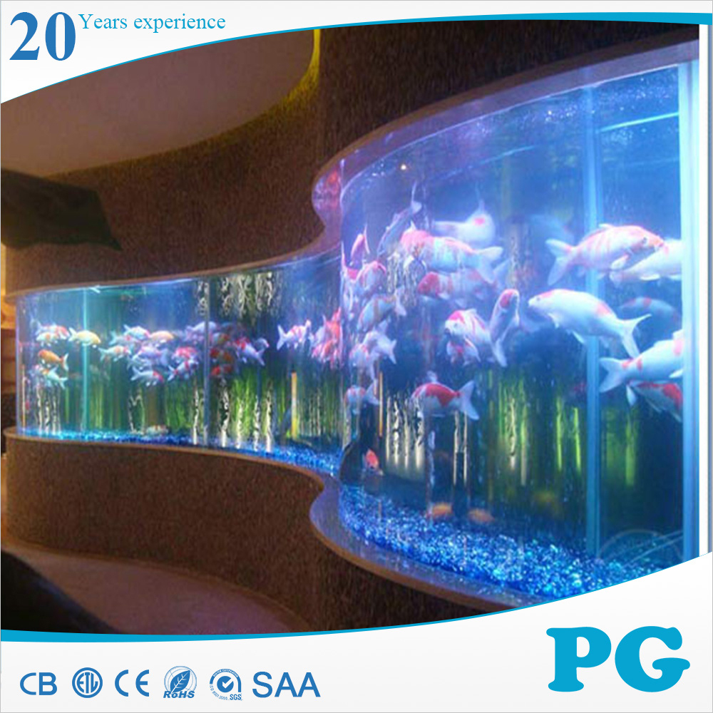 Pg Curved Glass Toy Fish Round Aquarium Buy Round