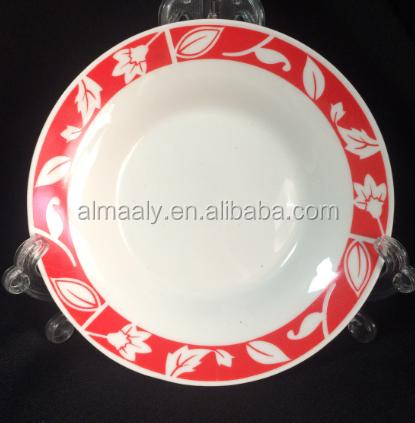 wholesale white porcelain dinner plate, kids dinner plate,ceramic plate