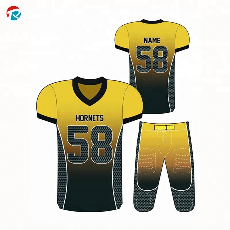 fc76cda1dac China Custom Team American Football Uniforms