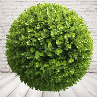 Customized Artificial Leaves Ball Plastic Topiary Ball