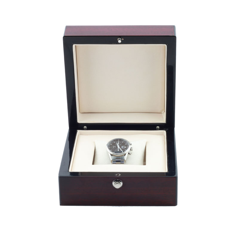 Matt finishing wooden watch jewelry gift box for men