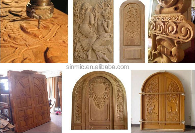 Sinmic Price 3 Axis Machine Wood Metal Furniture Making 1530 Cnc ...