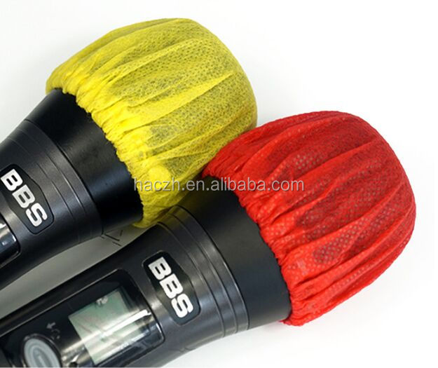 Disposable microphone/earphone/headphone covers
